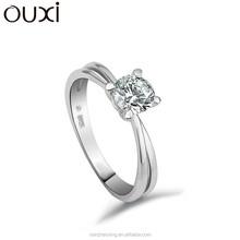 OUXI Cheap New Model women wedding ring,silver ring,fashion engagement ring