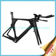 carbon TT frame bicycle PF30/BB30 carbon frame bike UD/3K weave chinese bike frame YS-FM068