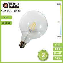 lighting lamp table decoration led filament bulb 100-250v g125