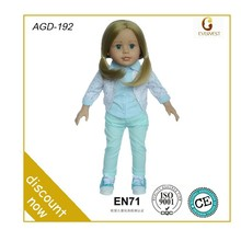 fashion modeling candy girl doll/lovely baby toys fashion doll/american girl baby doll