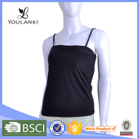 Made in China Exquisite Sex Large Size Tank Tops With Built In Bra