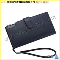 More Than 10 Years Manufacturing Credit Card Wallet Factory Products Leather Cell Phone Wallets