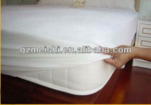 New Arrival High Quality low price 100% cotton plain PU waterproof Mattress Cover