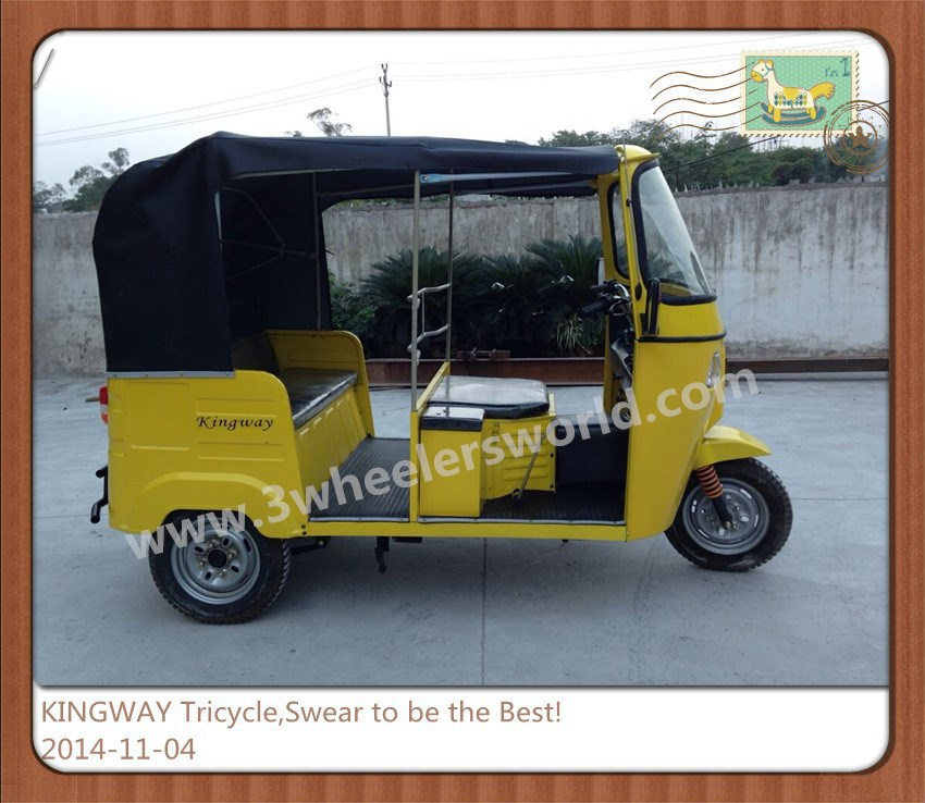 KINGWAY Adult Tricycle for Passenger,Bajaj Auto Rickshaw Price,Tricycle for sale