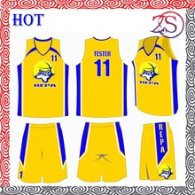 2015 new 100%polyster custom basketball sports wear/ basketball uniform/ basketball jersey