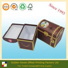 Paper Gift Treasure Chest Box