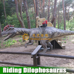 Amusement riding equipment Riding Dilophosaurus