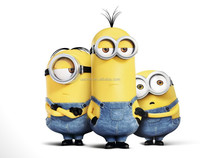 2015 High quality Minion stress ball for the NBCU small yellow man in different designs
