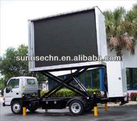 led tv screen mobile advertising truck Made in China shenzhen sunrise