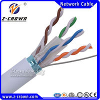 305m Box 23AWG UTP/STP Cat6 Copper Cable Price Per Meter