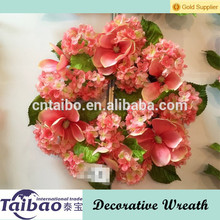 2015 nueva llegada hermosa guirnalda de flores artificiales