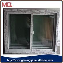 factory cheap price plastic window panel,sliding window for house