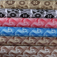 Pattern embossed pvc leather material for luggage handbag synthetic Leather fabric artificial leather for bags