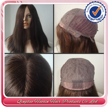 Top Beauty Hot Fashion European Virgin Hair Natural Color Jewish Wig Kosher Wigs
