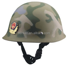 Police light duty helmet/camouflage color