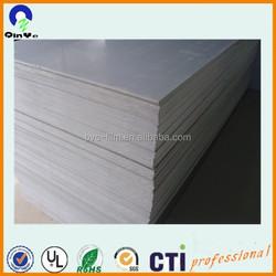 Wholesale cheap price cold-bending rigid PVC grey board