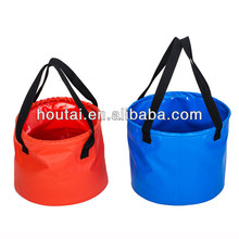 Portable PVC Tarpaulin Water Carrying Bag Bucket