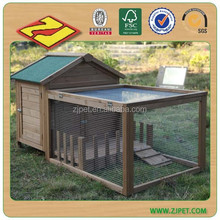 Factory export directly cheap custom wooden rabbit hutch (18 experience factory)