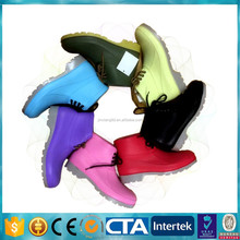 CE S5 Steel Toecap and Sole PVC men rain boots & safety work shoes