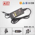 Uso universal 12V5A 60W adaptador de energia ac dc para notebook, adaptador Industrial para fornecimento de energia - Desktop