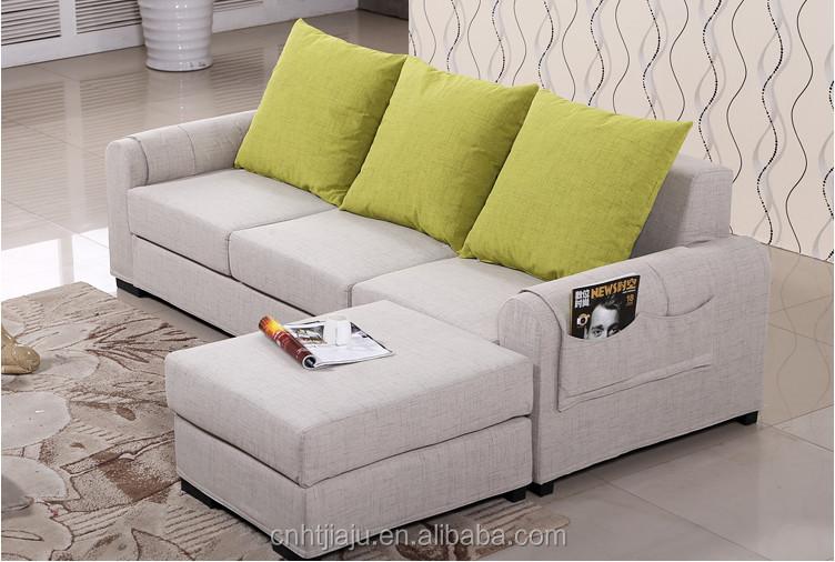 Sof da tela moderna minimalista apartamento pequeno sof for Sofa minimalista
