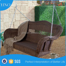Hanging Chain Simple Swing with Optional Cushion Resin Wicker SO1002