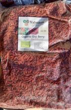 Toda la forma y se seca, conserva el estilo orgánica bayas secadas del goji