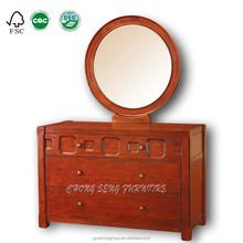 Art decorative carved wooden frame furniture make up table