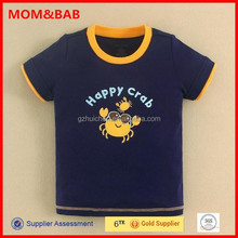 China Factory Wholesale mom and bab Cotton Baby Clothing, Cotton Boys Tshirts