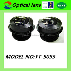 ISO9001:2008 ROHS high resolution wide angle waterproof M12 lens camera for car cameras