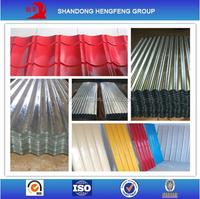Hot Dipped Zinc Aluminium Steel Roofing Sheets