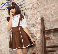 Latex Sexy House Cute Maid Costume Cosplay Costume Bar Waiter Uniform Anime COS Game Dress