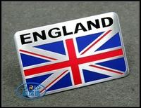 UK Flag Design Aluminum Car Badge for Promotion