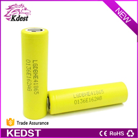 100% Authentic 18650 Lg 2500mah Yellow Rechargeble Battery, High Quality LG HE4 3.7V