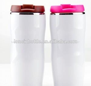 Doble pared de acero inoxidable termo botella/starbucks de vacío del vaso, vaso de café, no escapa taza de viaje