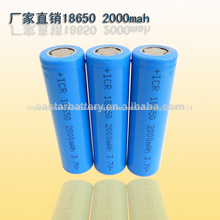 Ventas al por mayor Varios 3.7V batería recargable Voltaje nominal de la batería de iones de litio