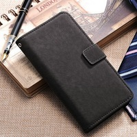 Business PU leather phone case for Samsung S5 I9600 wallet use stand OK