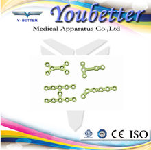 Veterinary 2.0mm Maxillofacial Plate orthopedic dental implant orthopedic instrument