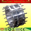 Force-transferring stainless steel expansion joint