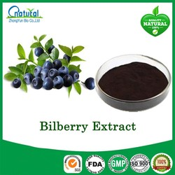 100% Natural Bilberry Extract, Blueberry Extract
