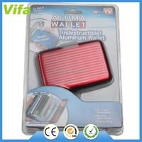 Aluminum RFID wallet case aluma wallet