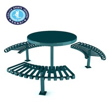 Large led round table sale Modern dining table