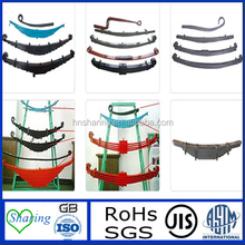 Conventional leaf spring for heavy truck or bus