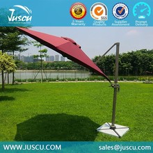 Juscu 3m Outdoor Beach Umbrella in Red/blue color for Cafe or Restaurant 1003