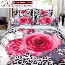 digital printing comforter/fabric painting designs bed sheets /bedding for Double bed