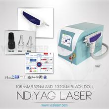 sapphire + ruby q switches /ktp/yag laser
