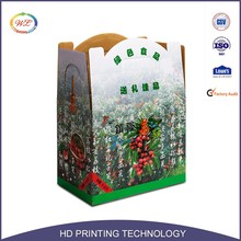 Professional Recycle Carton Material Standard Outer Packaging Carton Box For Fruit