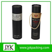 Custom design gold paper lined spiral wound paper tubes