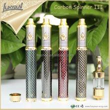 2015 top-selling carbon spinner 3 1600mah vaporizer e cigarette / e cigarette china
