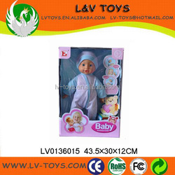 Fashion baby doll 16 inch,recording voice boy baby doll toy for sale